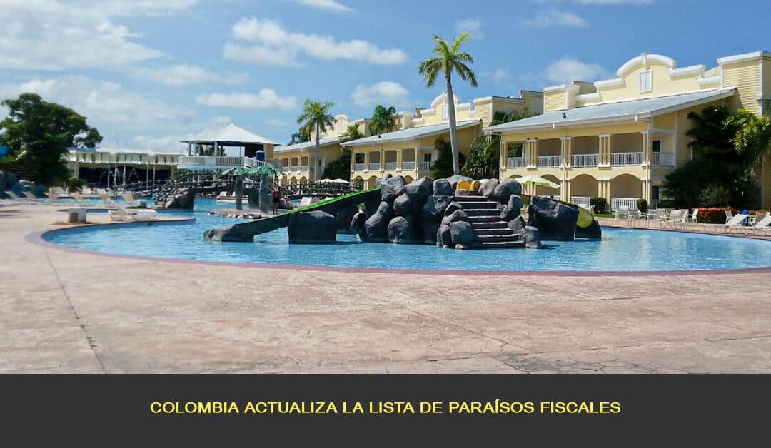Colombia actualiza la lista de paraísos fiscales