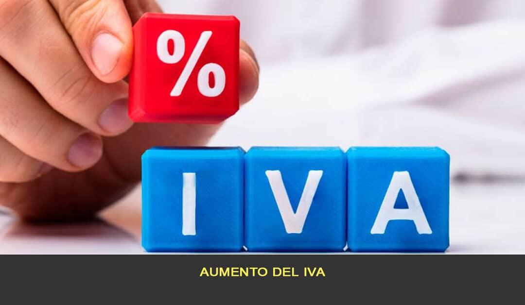 Aumento de IVA