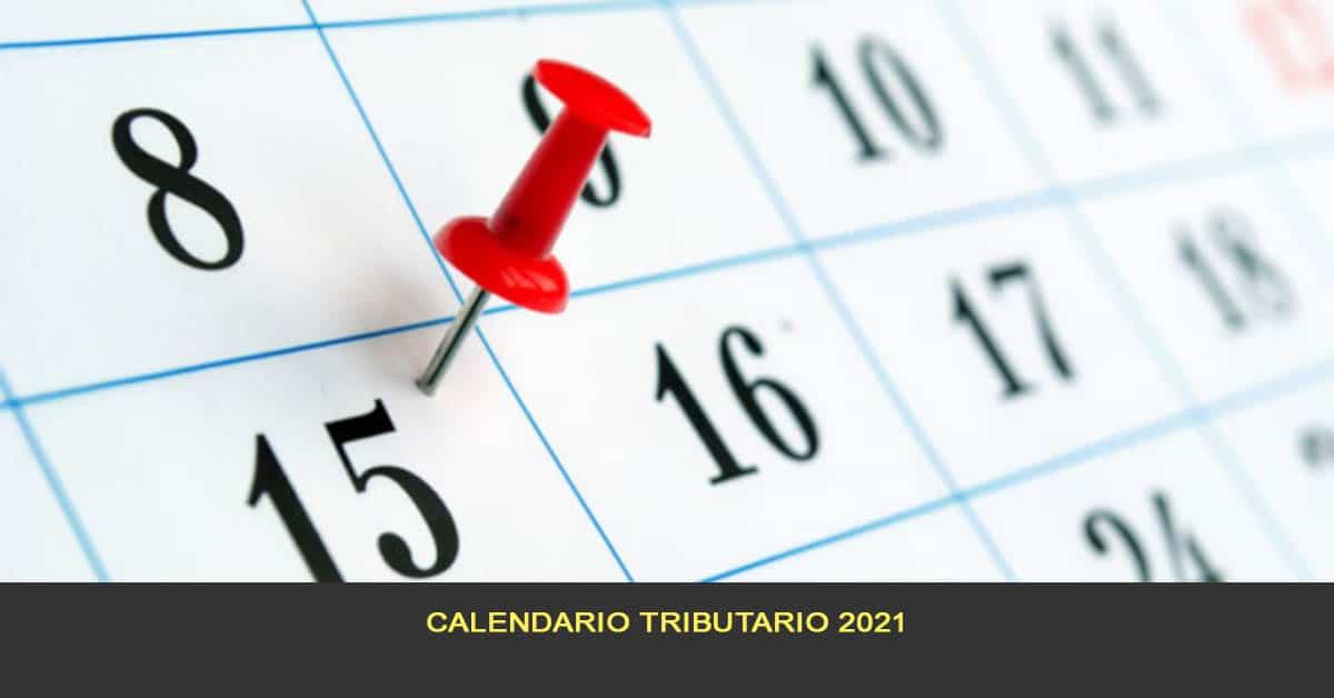 Calendario tributario 2021