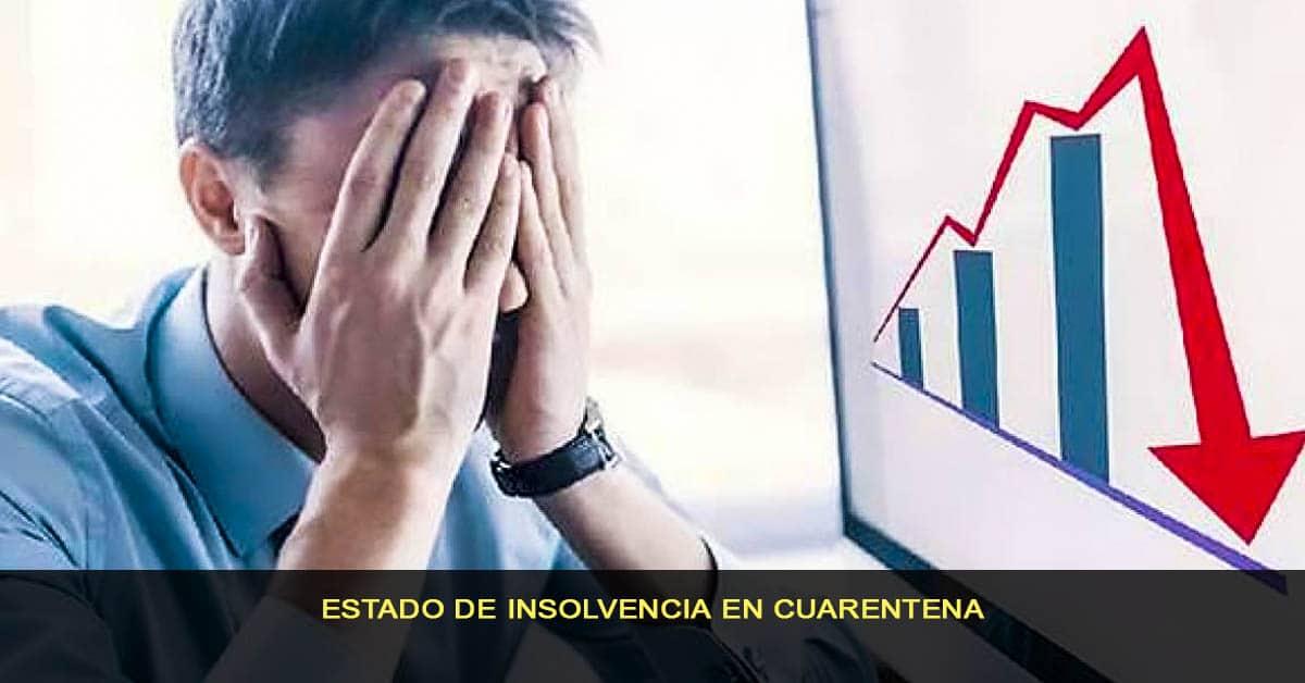 Estado de insolvencia en cuarentena
