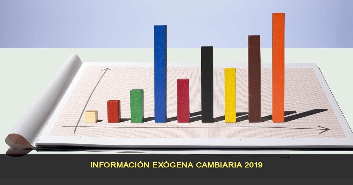 Información exógena cambiaria 2019