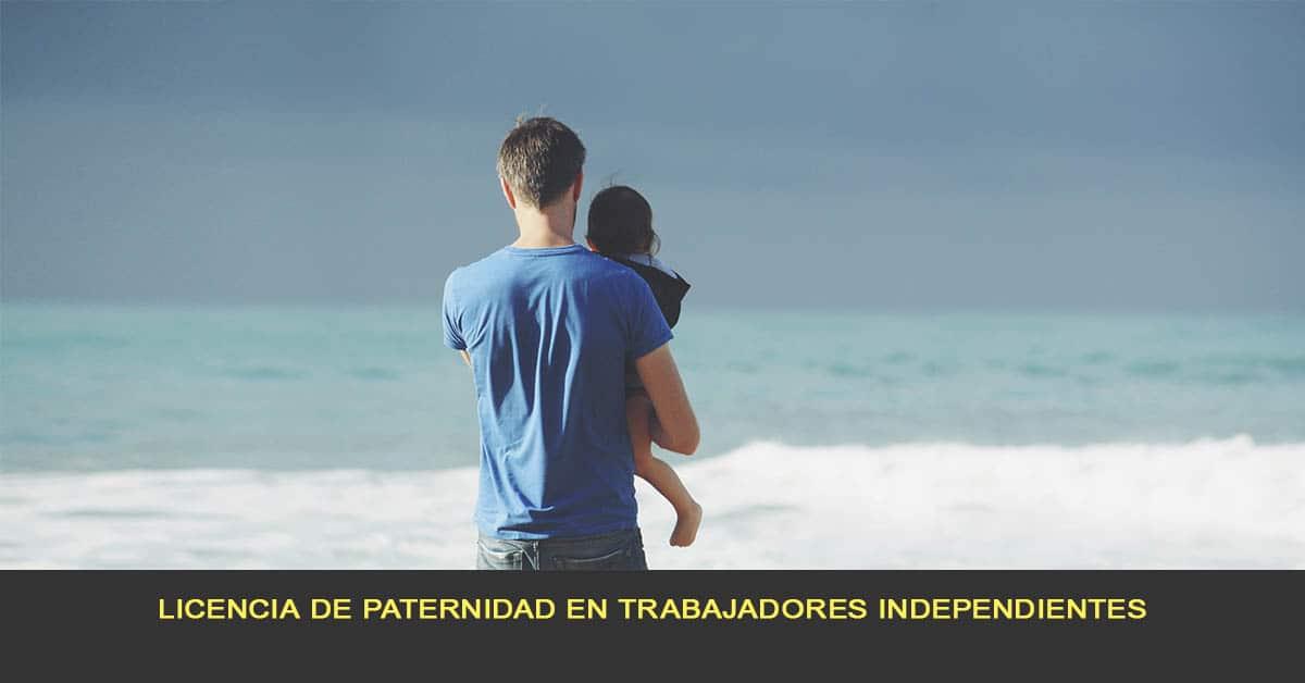 Licencia de paternidad en trabajadores independientes