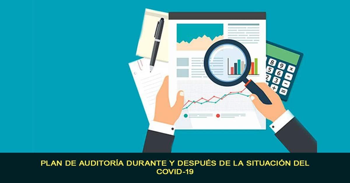 Plan de auditoría durante y después de la situación del COVID-19