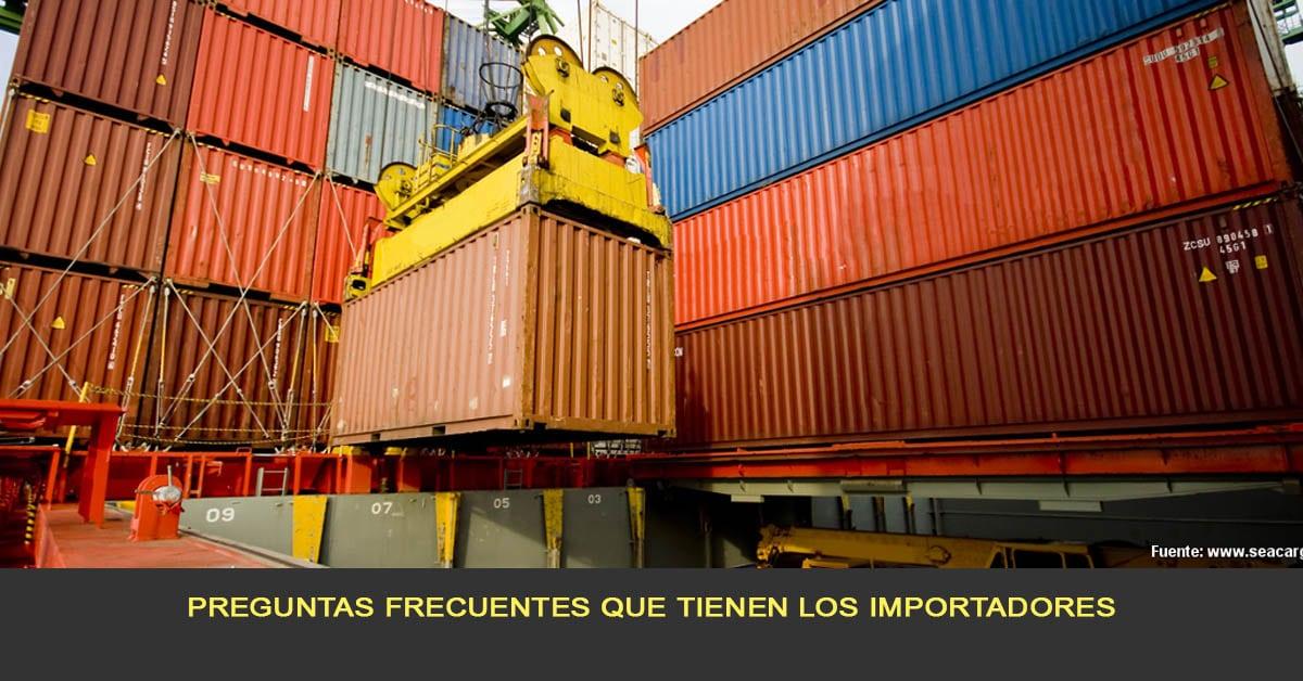 Preguntas frecuentes que tienen los importadores