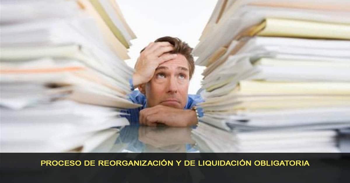 Proceso de reorganización y liquidación obligatorio