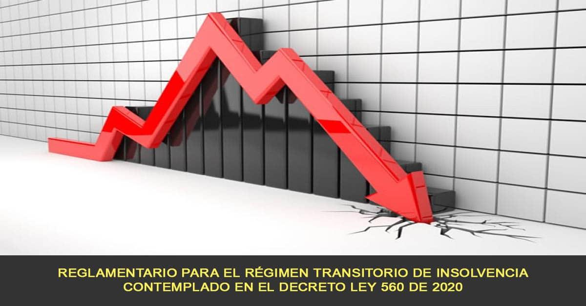 Reglamentario para el Régimen Transitorio de Insolvencia