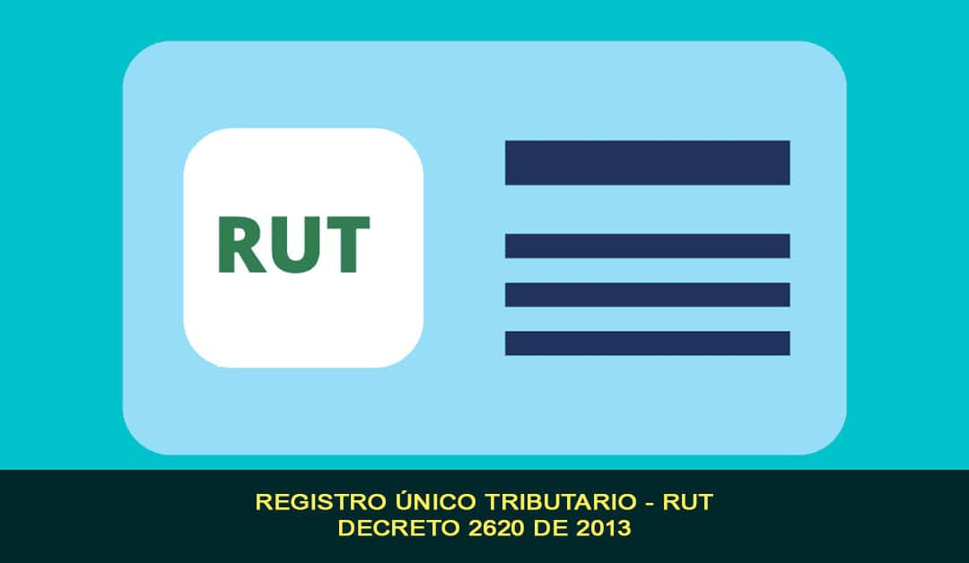 Registro único tributario – RUT, Decreto 2620