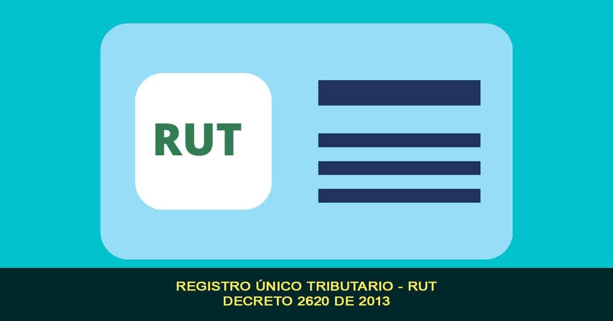 Registro único tributario - RUT, Decreto 2620