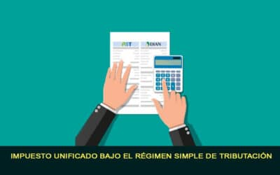 Impuesto unificado bajo el régimen simple de tributación