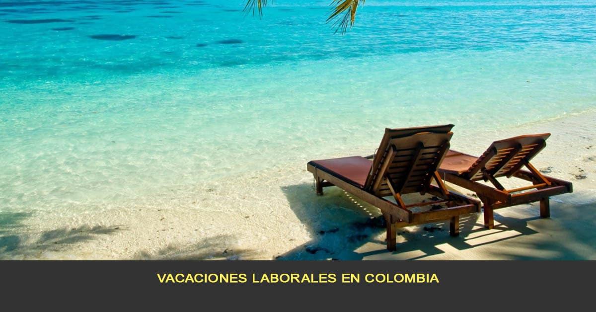 Vacaciones laborales en Colombia