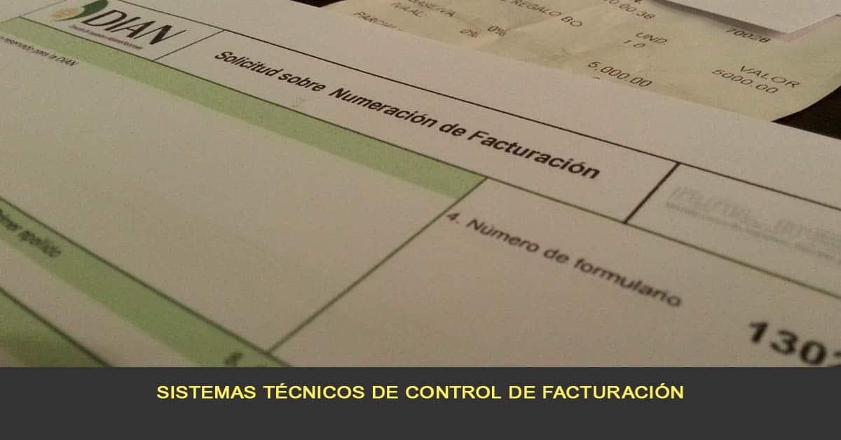 Sistemas técnicos de control de facturación