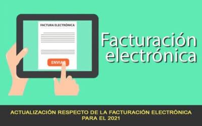 Actualización de la facturación electrónica para el 2021