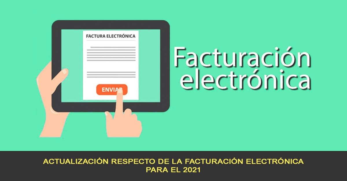 Actualización de la facturación electrónica