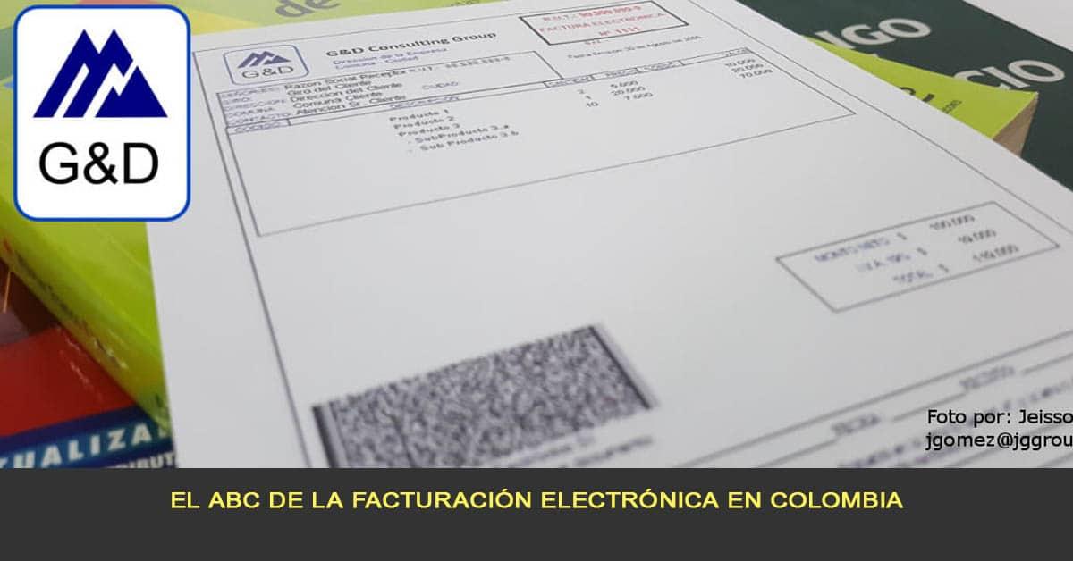El ABC de la facturación electrónica en Colombia
