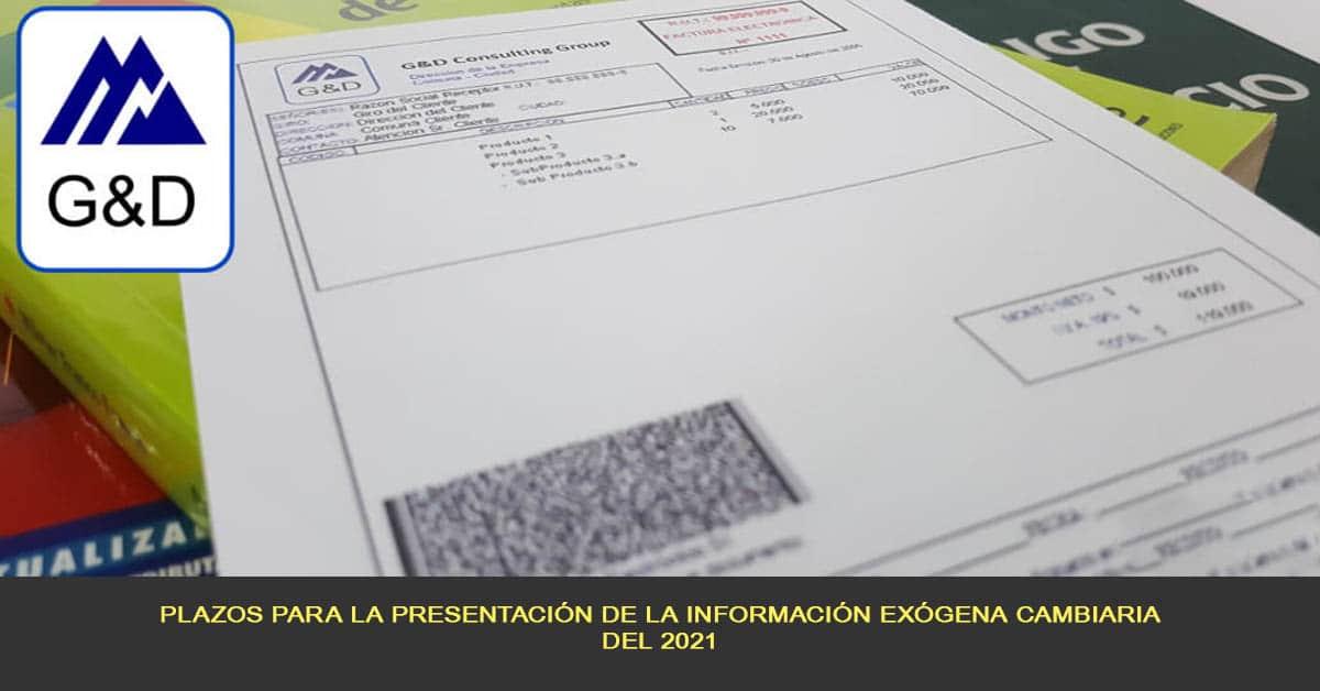 Plazos para la presentación de la información exógena cambiaria