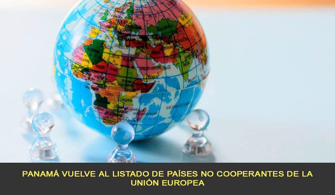 Panamá vuelve al listado de países no cooperantes de la Unión Europea