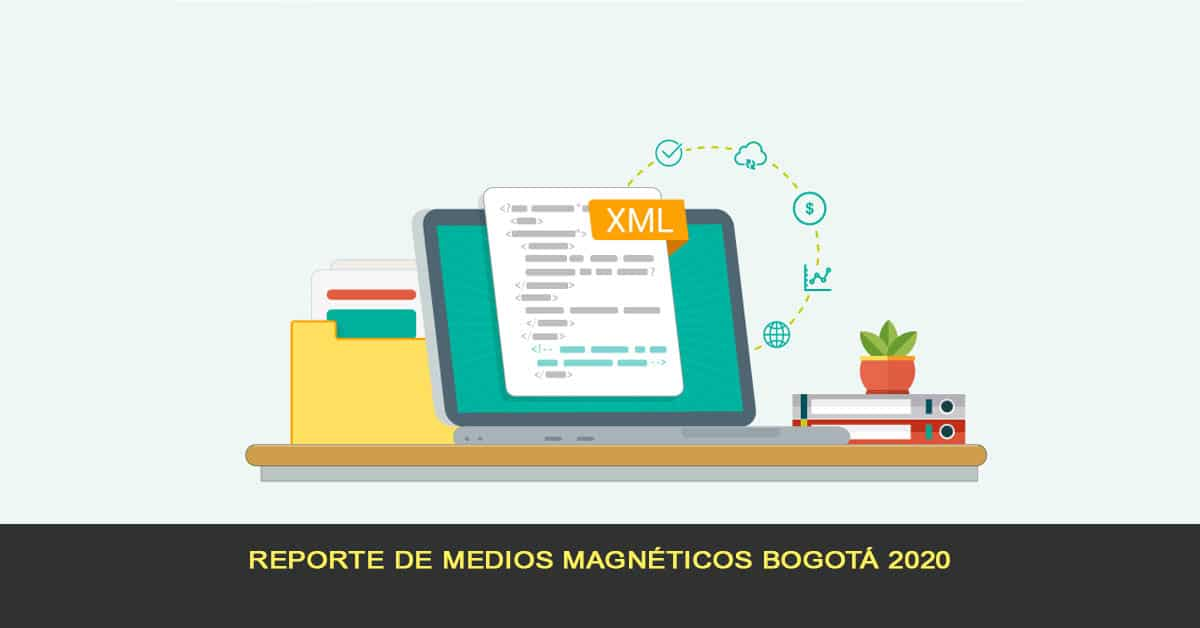 Reporte de medios magnéticos Bogotá 2020