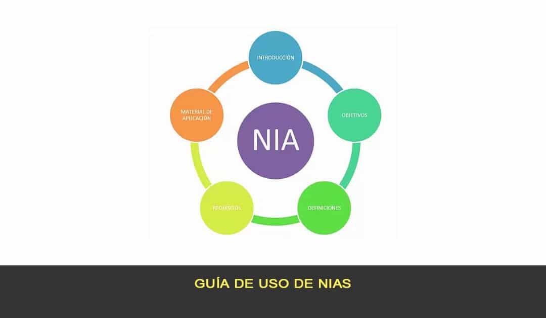 Guía de uso de NIAs