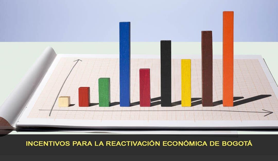 Incentivos para la reactivación económica de Bogotá