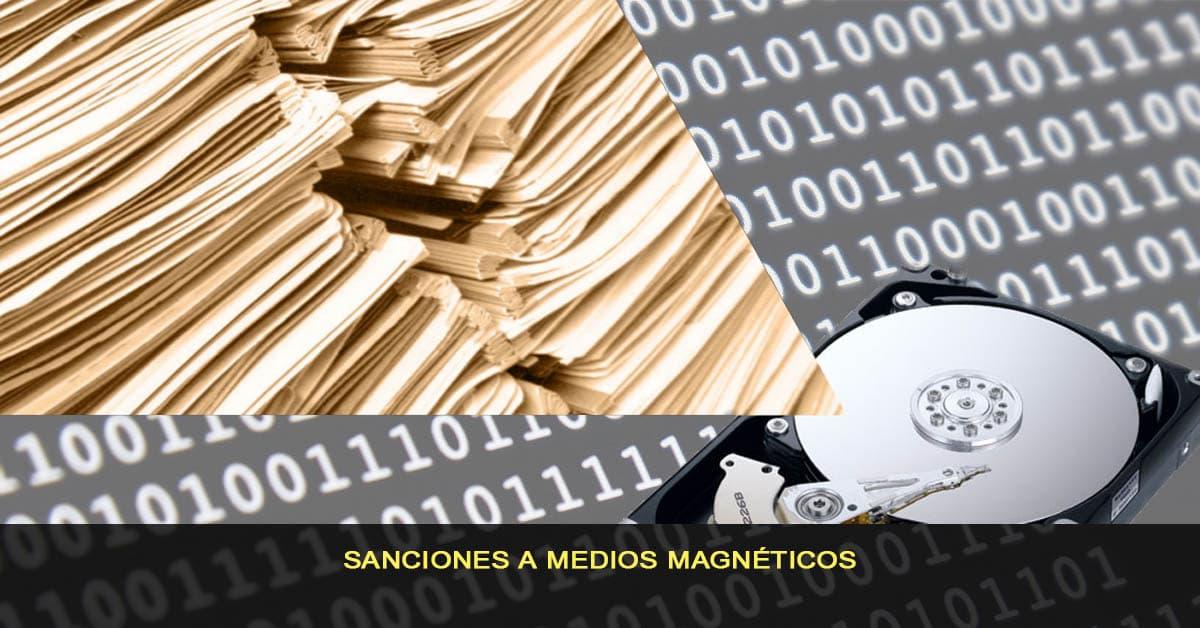 Sanciones medios magnéticos