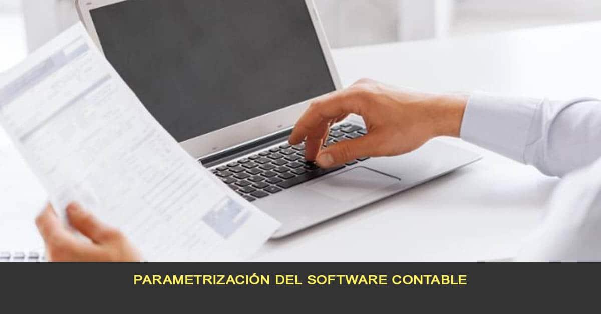 Parametrización del software contable