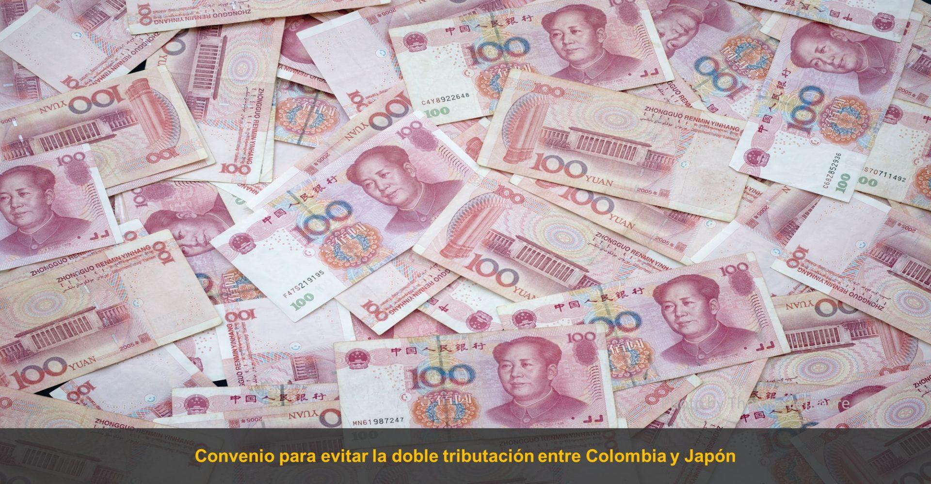 Convenio doble tributación Colombia Japón